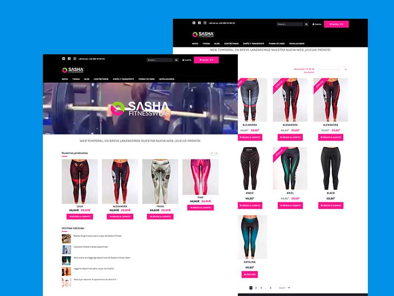 SASHA FITNESS WEAR